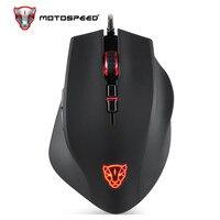 Motospeed V80 RGB Backlight 5000 DPI Gaming Gamer Mouse USB Computer Wried Optical Gamer LED for PC Laptop PK V30 V40 V60 V70