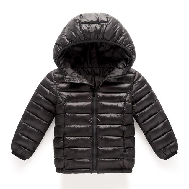 2018 new Spring Children Coat Autumn Kids Jacket Boys Outerwear enfant Coats Baby Clothes girls Lightweight down cotton Clothing