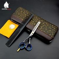 30% off Hunterrapoo left hand thinning scissor 5.5 inch high quality hair scissors professional hairdressing salons cut shears