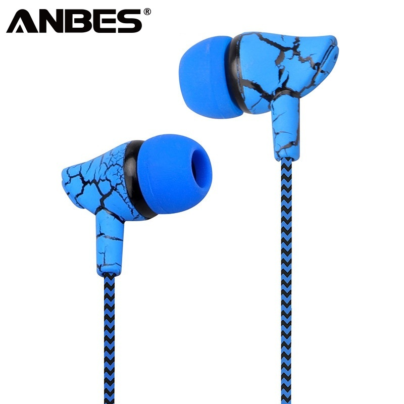 0969a31c19c Sport Earphone Wired Headphones Super Bass 3.5mm Crack Earphone Earbud with  Microphone Hands Free Headset for Samsung MP3 MP4 | eStoreg