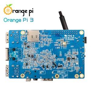 Image 3 - Orange Pi 3 Set1: OPI 3 + Netzteil, h6 1 GB LPDDR3 + 8 GB EMMC Flash Gigabyte AP6256 BT5.0 Unterstützung Android 7.0, Ubuntu, Debian