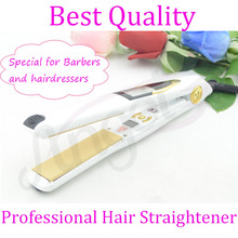 Sale 1-2 Minutes Electric Vibrating Straightening Iron Folder Double Significant Temperature Girls Hair Styling Machine Ceramic Plate