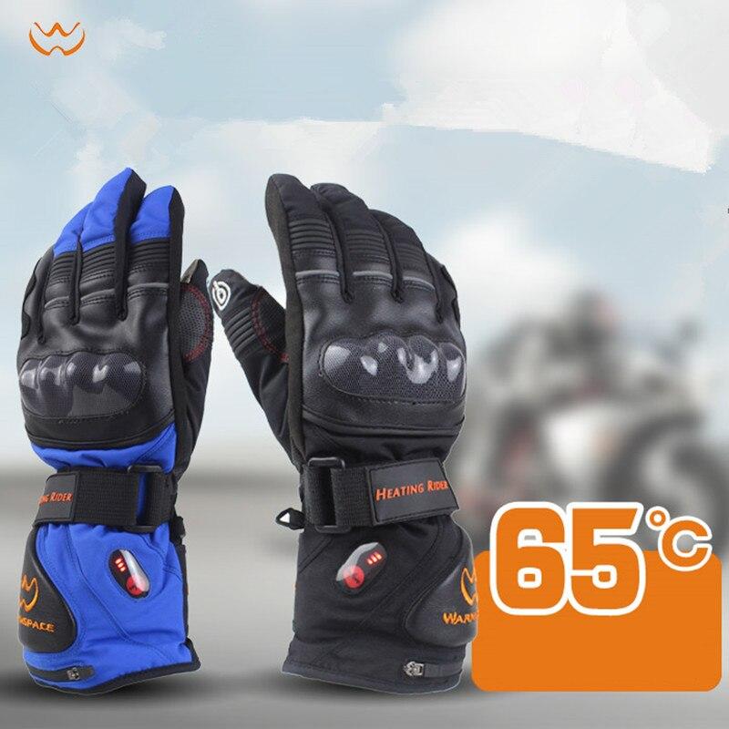11.11 nouveaux gants électriques intelligents haute hiver hommes femmes ski équitation gants chauffage électrique chaud imperméable au lithium batterie gants