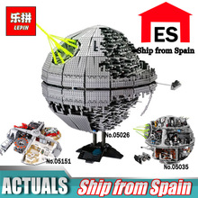 Lepin Wars on Star 05035 05026 The Death Star Building Block Set LegoINGly 10143 Children Educational Toys