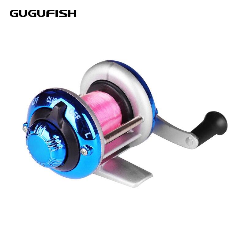 GUGUFISH 50M Line Mini Metal Bait Casting ketramine paadi - Kalapüük