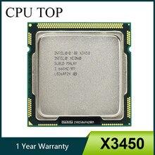 Процессор Intel Xeon X3450 четырехъядерный, 2,66 ГГц, 8 Мб, 750 ГГц, SLBLD, разъем LGA1156