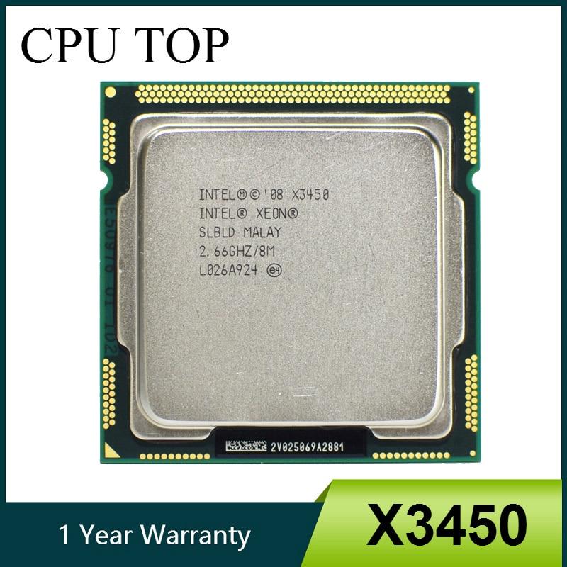 Intel Xeon CPU X3470 2.93GHz 8MB 2.5GTs LGA1156 Quad Core Server Processor SLBJH
