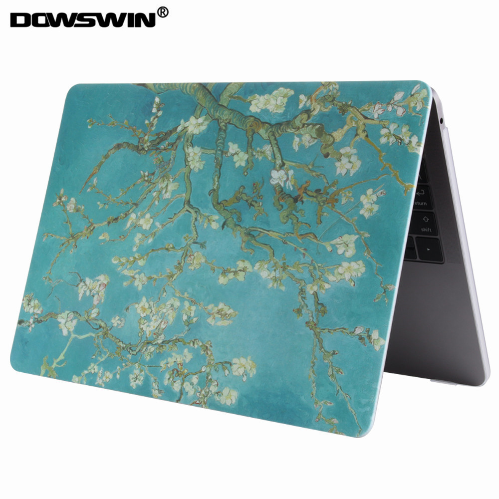 DOWSWIN for macbook pro 13 case, 2016 for macbook hard pc cover good protective for A1706/A1708 case for girl laptop cover