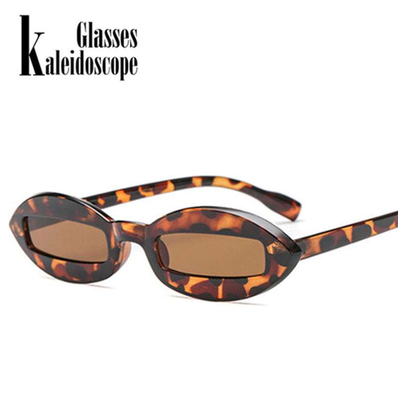 Kaleidoscope Glasses 2018 Fashion Design Women Sunglasses Small Oval Frame Sun Glasses women Unique Eyewear Funny Shades UV400