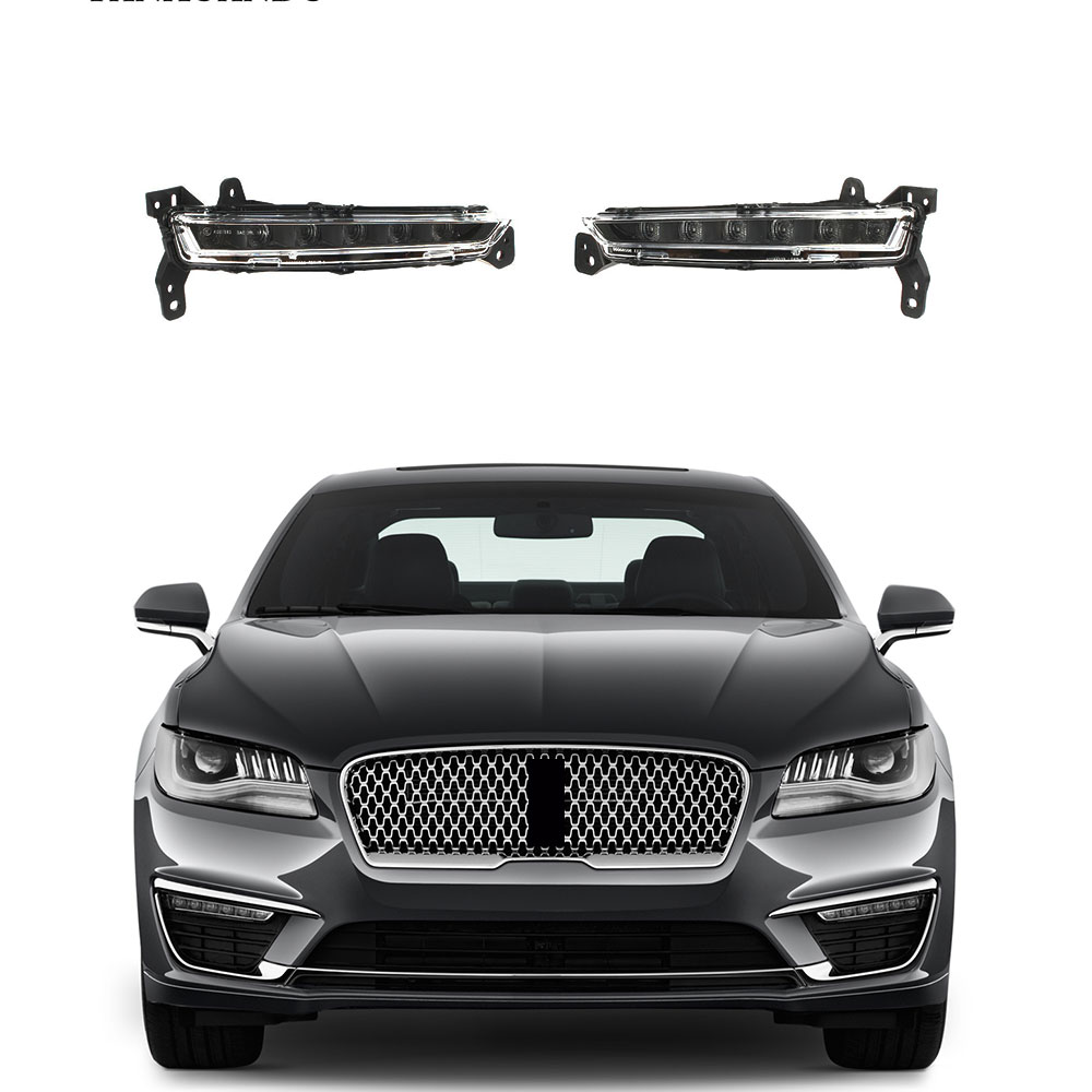 Left Right LED Front Fog Light Lamp Fit For LINCOLN MKZ 2017 2018 2019 HP5Z13200A HP5Z13200B