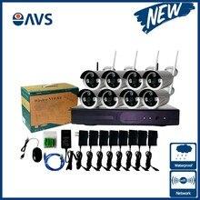 Китай безопасности Новый Беспроводной NVR комплект P2P 1080 P HD Открытый ИК Ночное видение ip Камера WI-FI CCTV Системы