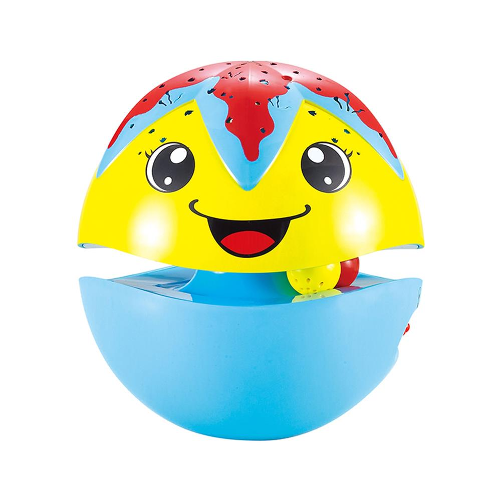 Flytec 6601 Starfish Electric Tumbler Intellegent Toy with Projection Music Story Function Funny Tumbler Toy for children