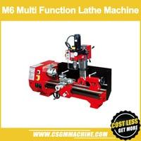 M6 Multi Purpose Machine/SIEG 3 in 1 Lathe Machine/Drill and Mill Machine/DIY Steel Processing Machine