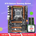 HOT KOOP! HUANAN deluxe X79 moederbord met Xeon E5 2650 V2 CPU en 8G (2*4G) DDR3 RECC RAM alle worden getest voor verzending