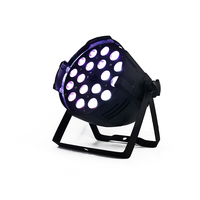 Zoom Function 18x18W RGBWA+UV 6IN1 LED Par Light DMX512 Led Disco Party Stage Light Professional DJ Equipment or any mobile