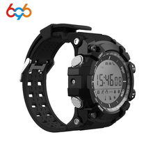 ФОТО 696 men's digital sports smartwatch waterproof bluetooth smart outdoor pedometer watch call message reminder for android&ios
