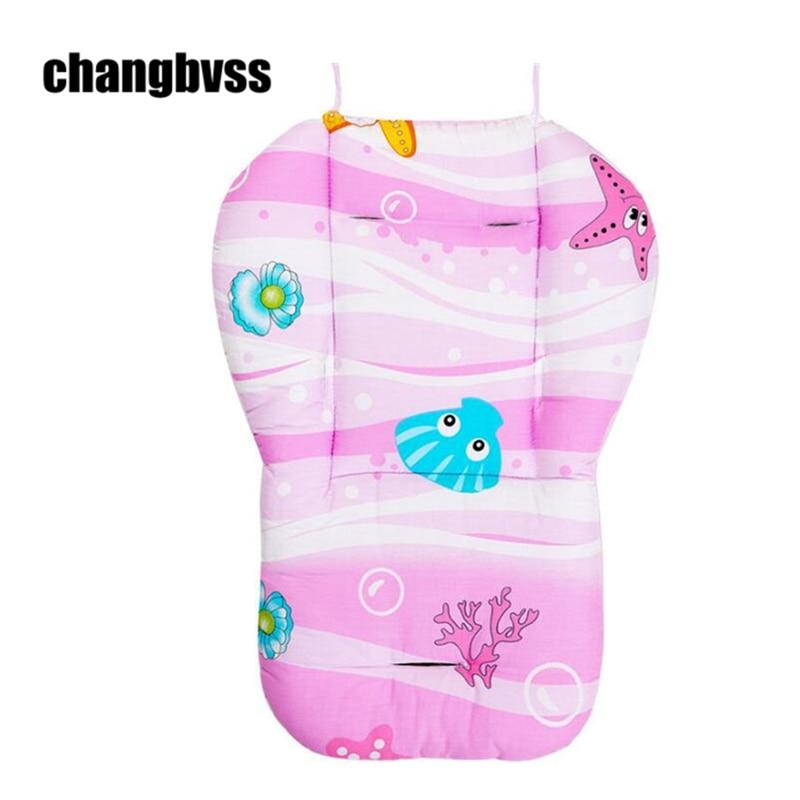 Blue Pink Baby Stroller Accessories Stroller Seat Cushion