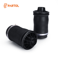 Partol 2pcs/set Rear Air Suspension Spring Bag for Mercedes Benz ML Class 2005~2011 Year Right Left Air Spring Shock Absorber