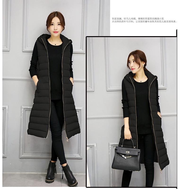 Cămașă de iarnă caldă pentru femei Vestă lungă pentru femei, - Îmbrăcăminte femei - Fotografie 2
