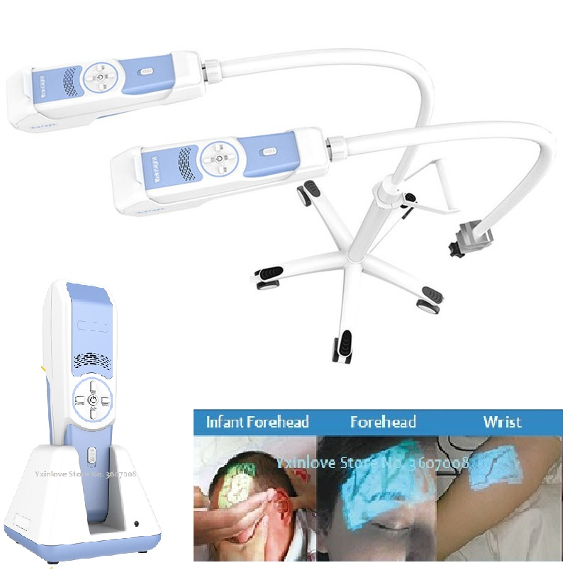 Портативный прибор для просмотра Вены/прибор для поиска вены для педиатрии, толстых пациентов, отеков и т. Д