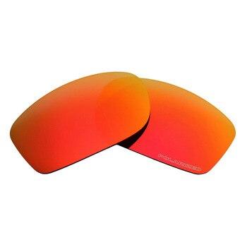 Occhiali Da Sole Con Lenti Rosse | Mryok + Resistere Acqua Di Mare Lenti Di Ricambio Per Oakley Fives Squared Occhiali Da Sole POLARIZZATI Rosso Fuoco