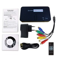 Nova eZcap284 Captura Jogo HD 1080 P HDMI/AV/Ypbpr Video Capture Recorder caixa para Disco USB Cartão SD Para U Vai Xbox360/Um PS3/4