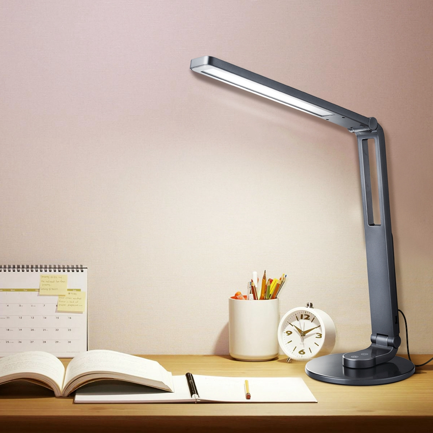 Led Desk Lamp Touch Sensitive Control Eye Protection Table