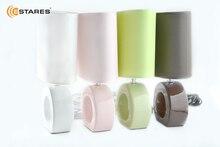 Estares  Настольная лампа AT12293 кофе/розовый/белый/зеленый/бежевый