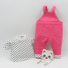 Outfits for Blyth doll cute clothes overalls,cat bag,spot skir for the Plump doll cute dressing Factory Blyth