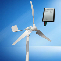 600w MAX 800w Wind Generator With 600w Wind Charge Controller