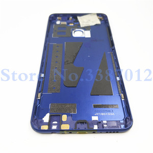 Image 2 - สำหรับ Huawei Honor 7X อะไหล่ฝาหลังแบตเตอรี่ + ปุ่มด้านข้าง + กล้องแฟลชเลนส์เปลี่ยนฟรีการจัดส่ง