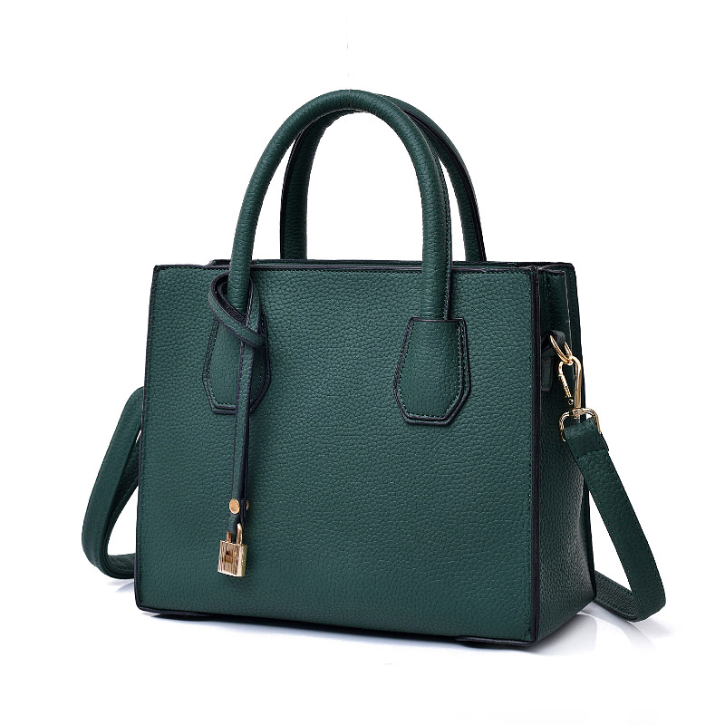 ALIDM Lychee small fashion luxury Lock handbags women shoulder bag designer michael handbag obag handles bolsas victor hugo