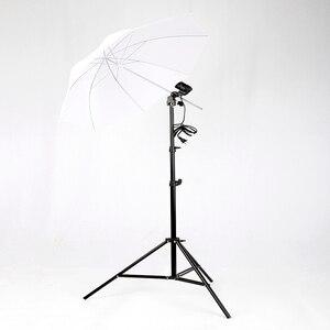 Image 4 - 1PC 33 pollici Photo flash da Studio Ombrello Morbido Traslucido Fotografia Accessori Per Lilluminazione