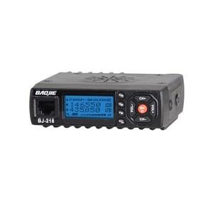Image 2 - BAOJIE BJ 218 Mini Car Walkie Talkie 10KM 25W Dual Band VHF/UHF 136 174mhz 400 470mhz 128CH Mobile Radio Car Radio Transceiver