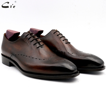 cie men dress shoes leather mens wedding men office shoes man brogue genuine calf leather formal office leather handmade No.11 derby shoes men genuine leather luxury brand handmade vintage retro office formal party wedding dress shoes men