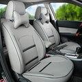Cubierta de encargo asientos para jeep grand cherokee cubierta de asiento de coche calidad superior de LA PU de cuero fundas de los asientos interiores accesorios para coches asiento