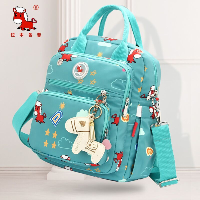 Cartoon Baby Changing Bag Maternity Diaper Bag Mummy Tote Backpack Nappy Changing Organizer Waterproof Baby Care Bags Messenger