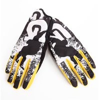 BOODUN Professional Ski Gloves Men Women Snowboard Snowmobile Motorcycle Riding Winter Gloves Windproof Waterproof Gloves Yellow