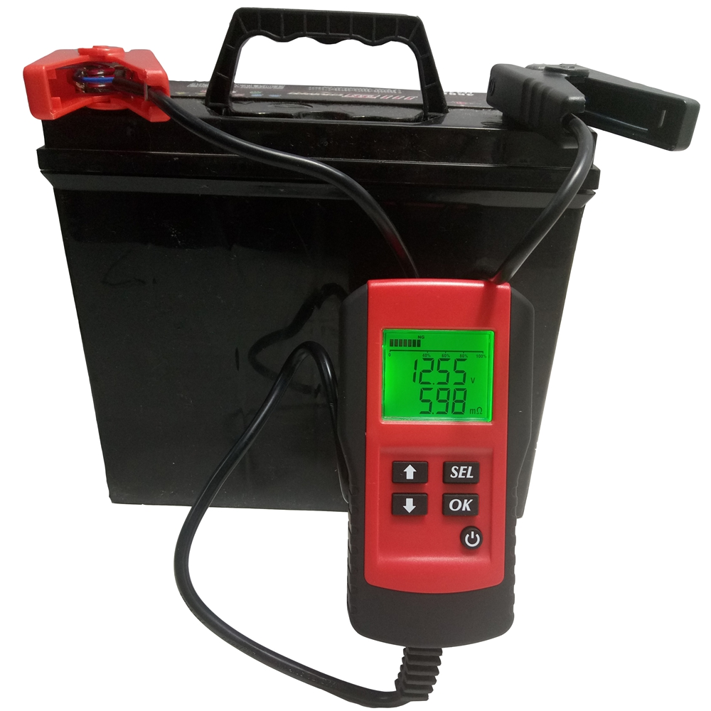 Electronic Battery Tester : Digital v car battery tester automotive load