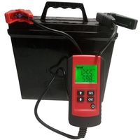 Digital 12V Car Battery Tester Automotive Battery Load Tester and Analyzer Of Battery Life Lead Acid Battery Diagnostic Detector
