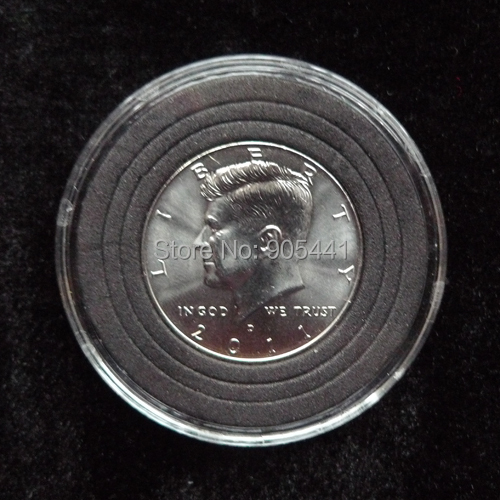 10 Coins Capsule Holder Coin Protection Case Fit For Us Half Dollar Fit For Diameter 20mm 25mm