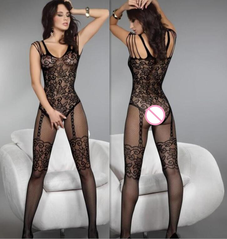 New Women Sexy Lingerie  Fullbody Body Stocking Women Hosiery Sexy Stockings Romper Intimates Onesies Sleep Bottoms Bustiers