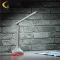 Touch 256 cor LED lâmpada de leitura Lâmpada de Mesa Dobrável Estudo Utilizando Olhos Proteger LED Mesa de Luz Recarregável Mesa de Luz Colorida