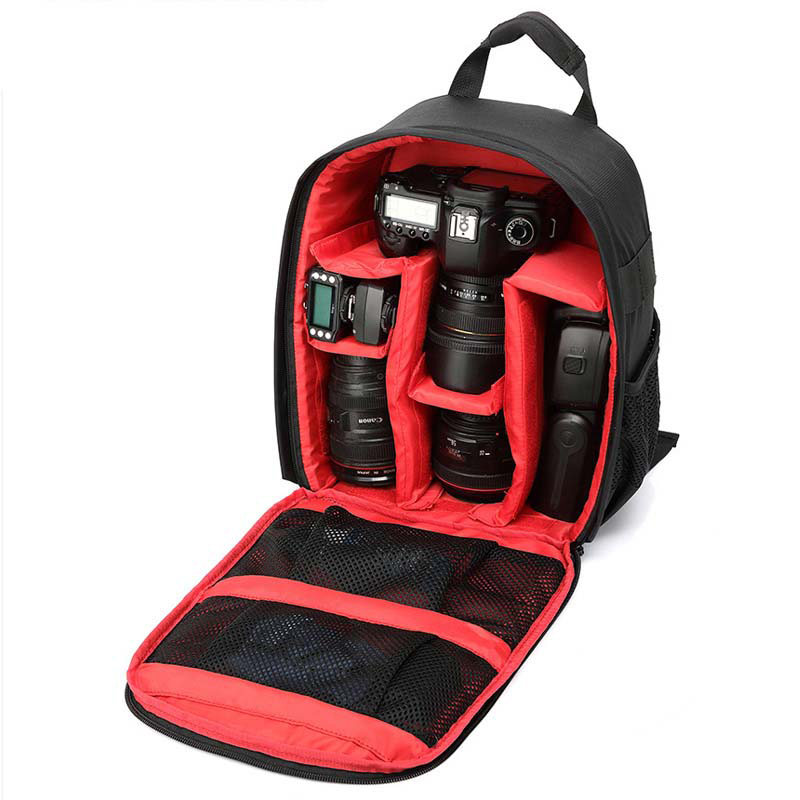 New Bolsas Video Photography Camera Bag Case For Nikon Waterproof Functional Digital Camera Bag Backpack Travel Shoulder Bag Sac