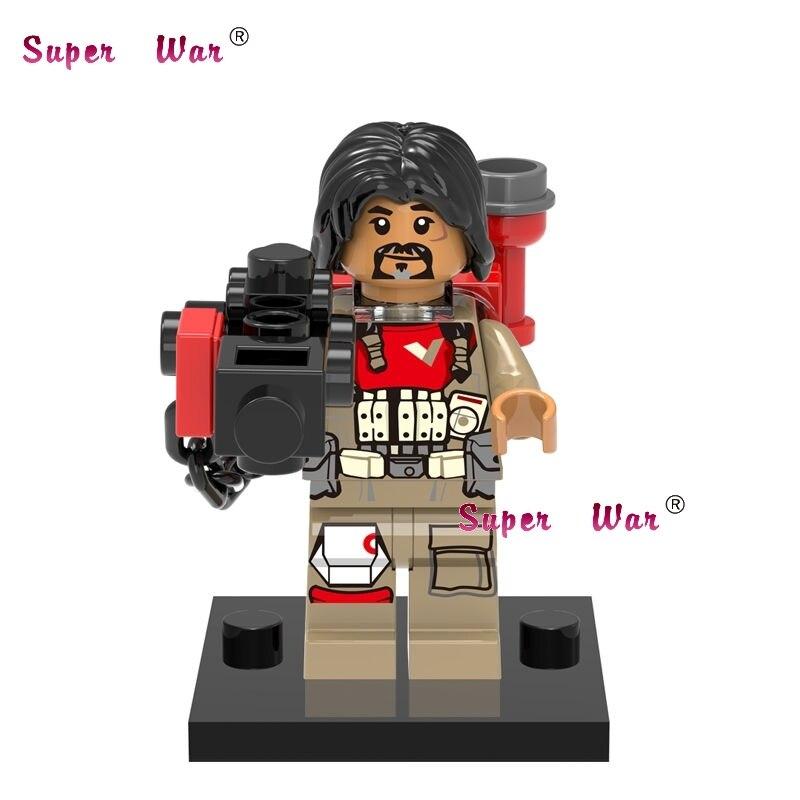 1PCS star wars superhero marvel Rogue One Baze Malbus building blocks action sets model bricks toys for children