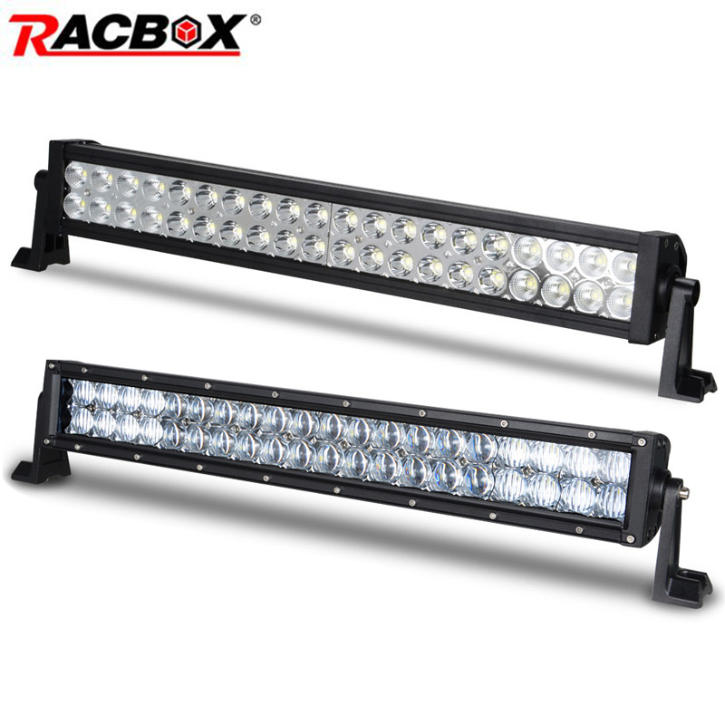 22 inch 120W 3D Offroad LED Work Light Bar for Driving Boat Car Truck 4x4 4WD