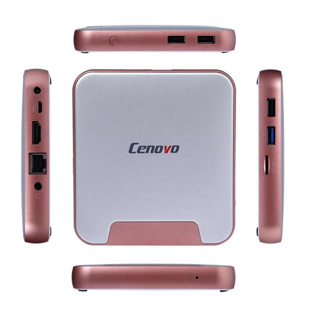 Estilo de la manera cenovo mini pc 2 tv box intel cereza trail z8300 Quad Core H