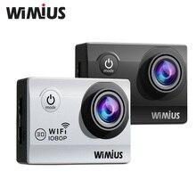 Wimius Q2 WiFi Full HD 1080p Motion Digital camera Mini Video Sports activities Helmet Cam DVR Camcorder DV 30M Go Waterproof 40M Professional +2 batteries