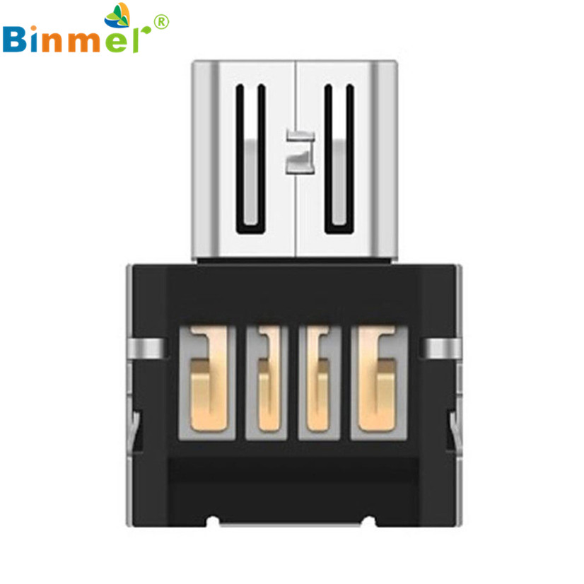 Factory price Hot Selling High Quality Binmer NEW Mini USB 2.0 Micro USB OTG Converter Adapter Cellphone TO US Drop Shipping
