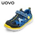 Uovo 2017 nuevas sandalias de los niños niñas sandalias de verano de marca niños de la manera zapatos de deporte de playa sandalias hot sale tamaño 28-37